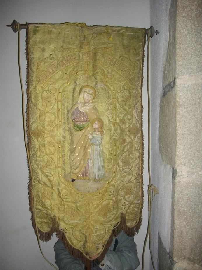 Bannière sainte Anne