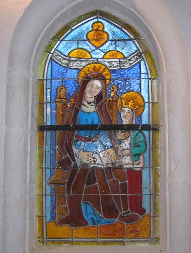 Vitraux Sainte Anne